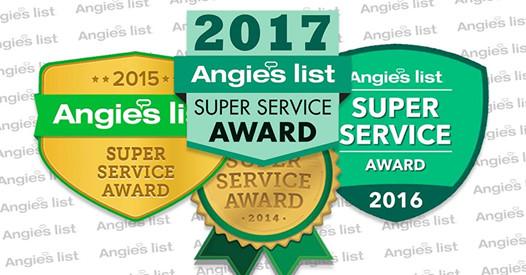 Angie's List Super Service Awards